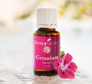 Geranium - maloniųjų pelargonijų eterinis aliejus